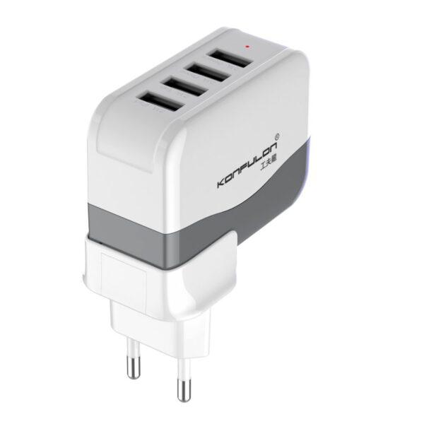 Konfulon C21 4 USB Seyahat Şarj Cihazı
