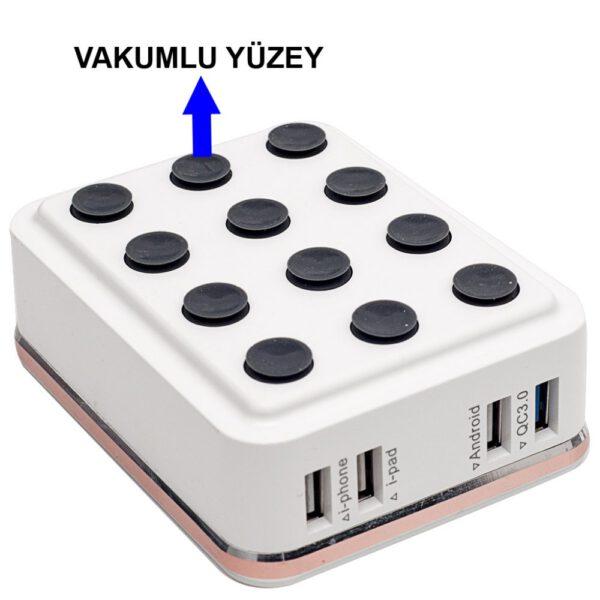 Konfulon C29 6 USB 3.0 Quick Masa Şarj Cihazı