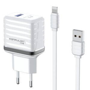 Konfulon C32Q 3.0 Quick Lightning Seyahat Şarj Cihazı