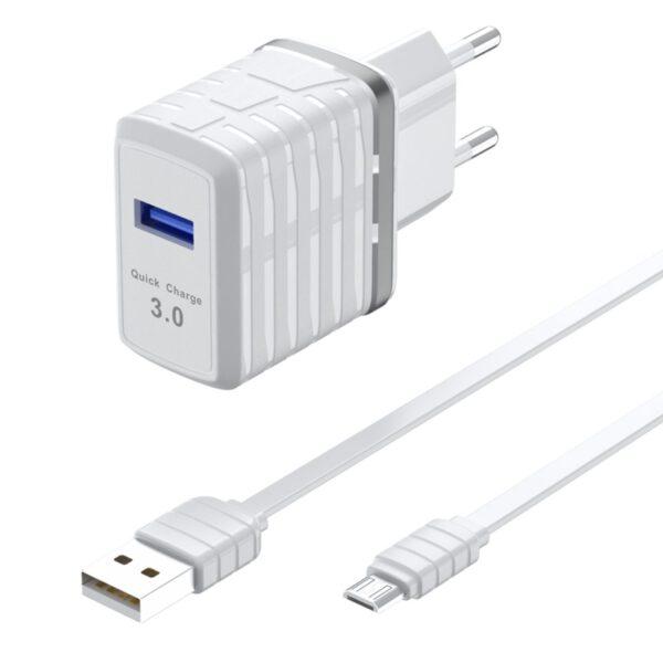 Konfulon C32Q 3.0 Quick Micro USB Seyahat Şarj Cihazı