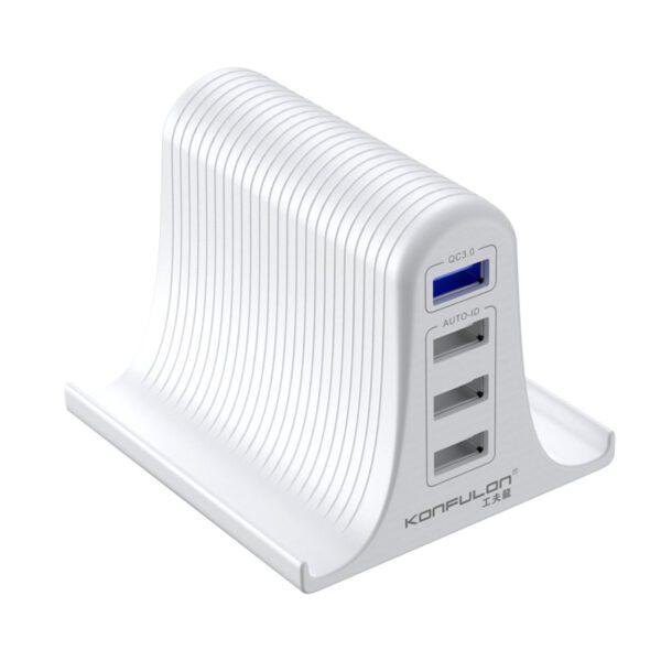 Konfulon C52Q 4 USB 3.0 Quick Standlı Seyahat Şarj Cihazı