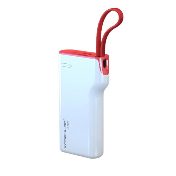 Konfulon A11 Micro USB Powerbank 10.000 mAh - Beyaz