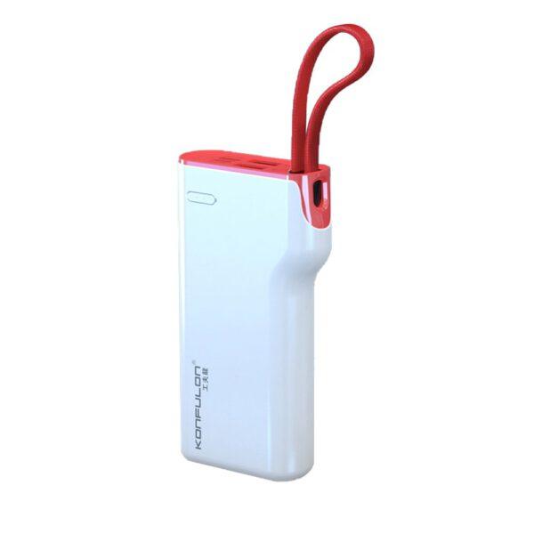 Konfulon A11 Lightning Powerbank 10.000 mAh - Beyaz