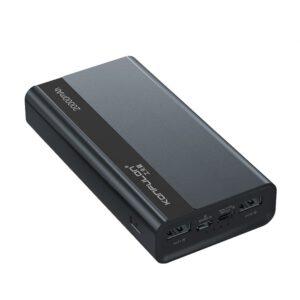 Konfulon A16Q Powerbank 20.000 mAh PD 18W / 22.5W Hızlı Şarj - Siyah