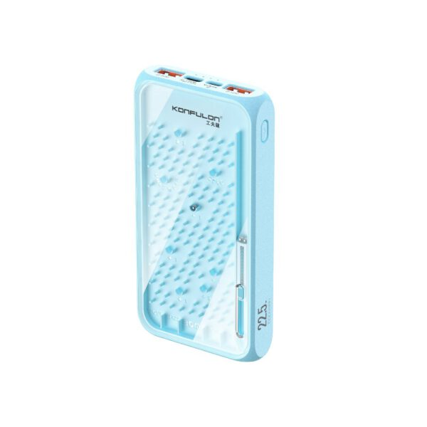 Konfulon A17Q Powerbank 10.000 mAh 22.5W PD Hızlı Şarj - Mavi