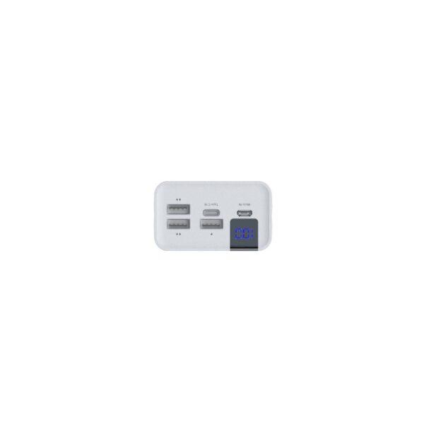 Konfulon A19 Dijital Ekranlı Powerbank 30.000 mAh Hızlı Şarj - Beyaz