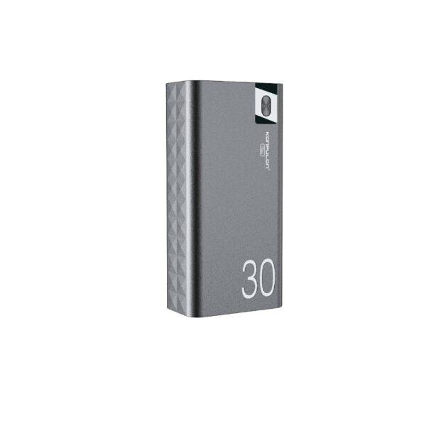 Konfulon A19 Dijital Ekranlı Powerbank 30.000 mAh Hızlı Şarj - Siyah