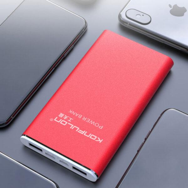 Konfulon A3Q Powerbank 10.000 mAh PD 18W Hızlı Şarj - Kırmızı