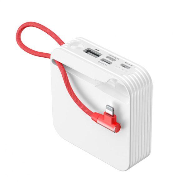 Konfulon A5 Lightning Powerbank 10.000 mAh - Beyaz