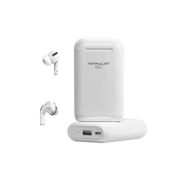 Konfulon BTS-10 Bluetooth Kulaklık Powerbank 5.000 mAh