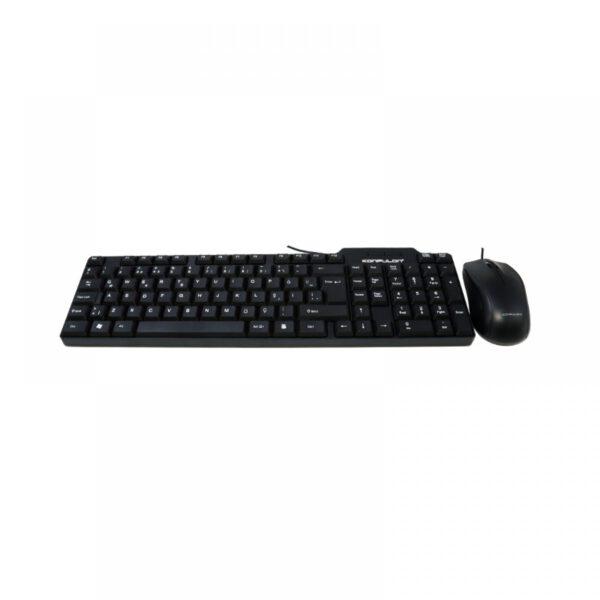 Konfulon KM88 Türkçe Q Office Klavye Mouse Set