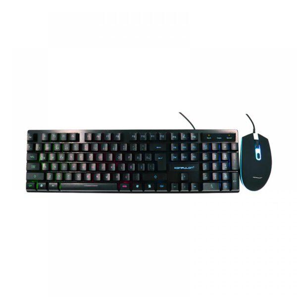 Konfulon KM99 Türkçe Q RGB Işıklı Gaming Klavye Mouse Set