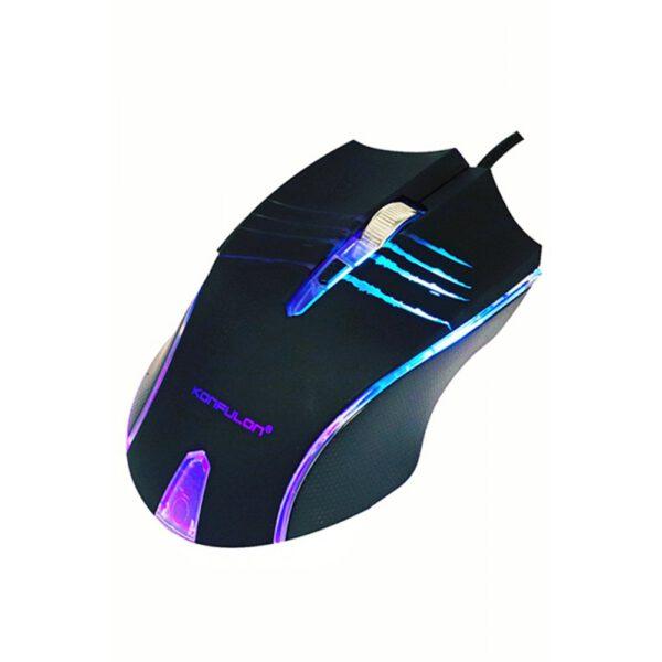 Konfulon P1 RGB Işıklı Kablolu Gamer Mouse