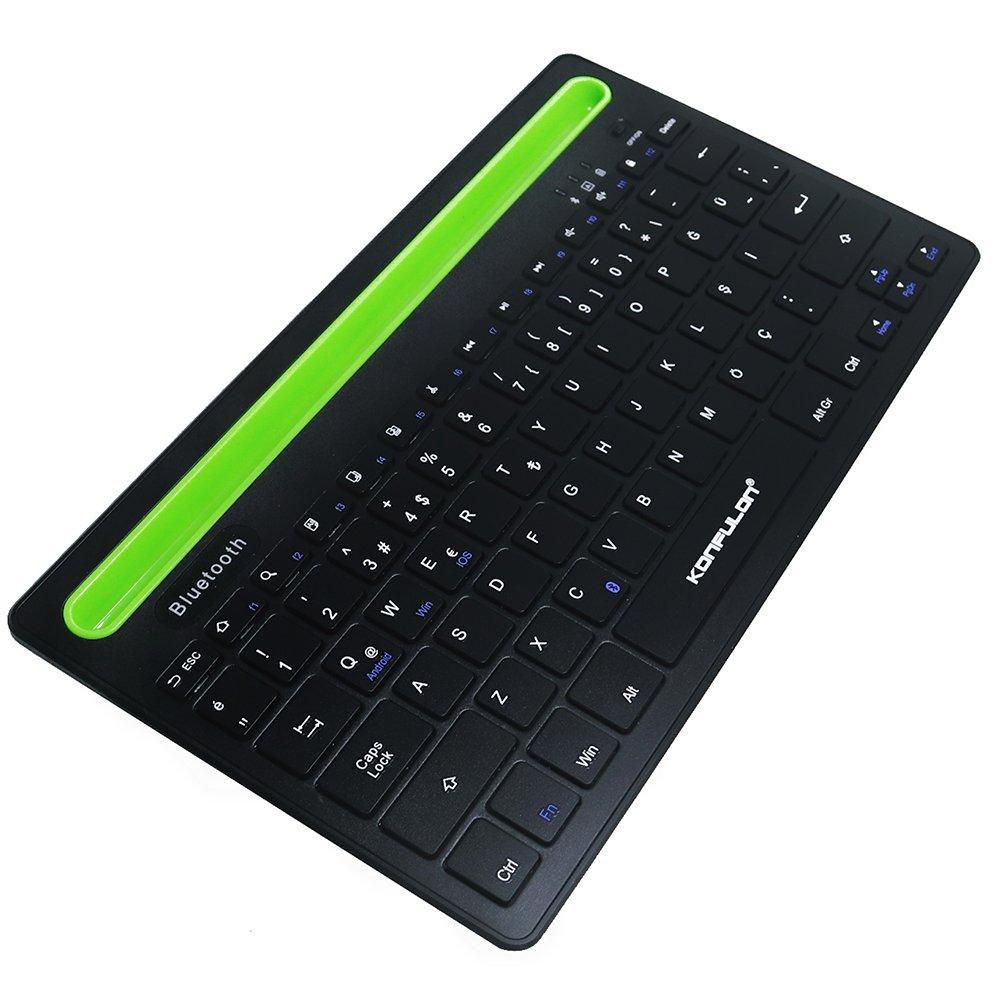 Konfulon V4 Bluetooth 5.0 Standlı Türkçe Q Klavye