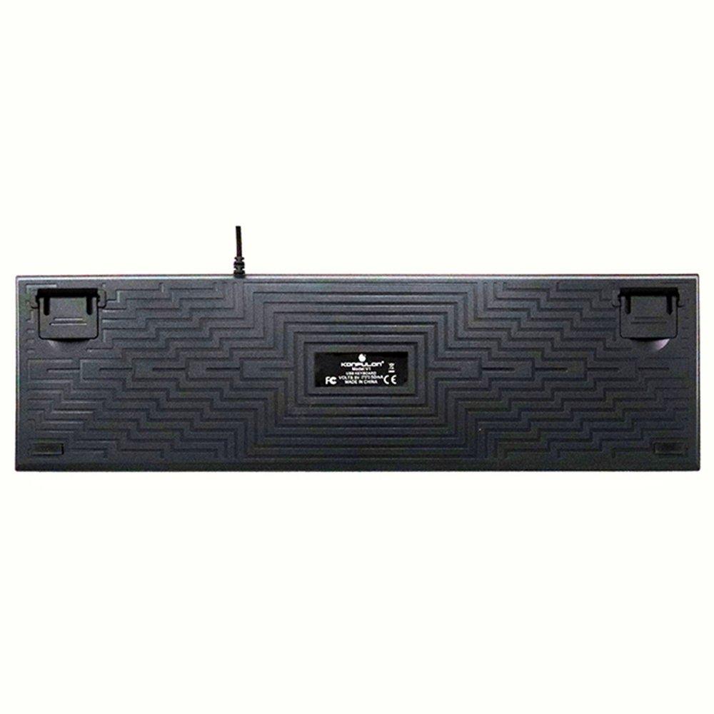 Konfulon V5 RGB Işıklı Türkçe Q Kablolu Mekanik Klavye